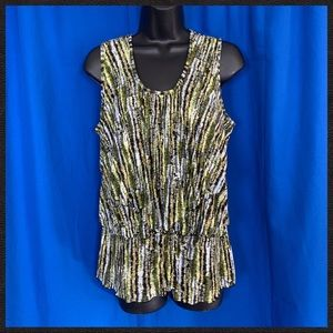 Coldwater Creek Sleeveless Blouse M